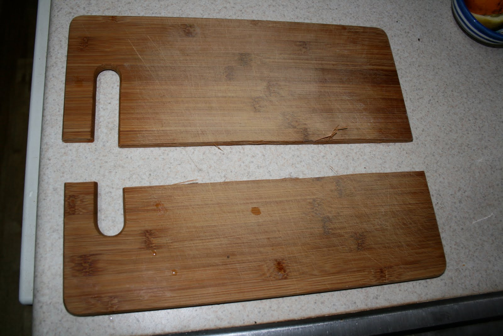 How to fix a broken chopping board